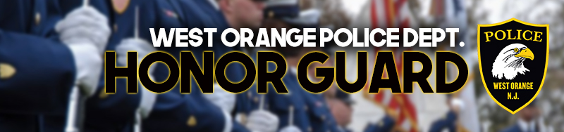 West Orange Police Department Honor Guard