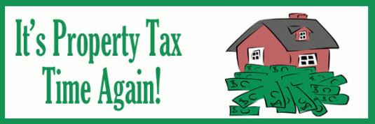 Property Tax Time