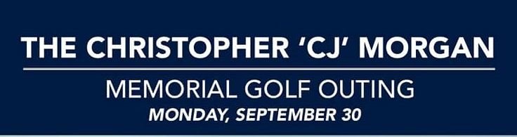 CJ Morgan Memorial Golf Outing Banner