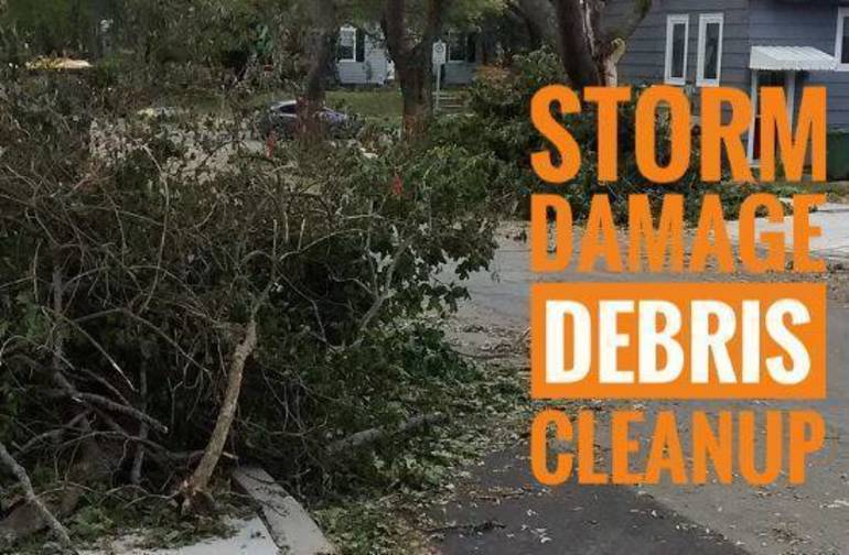 Storm Debris Clean up