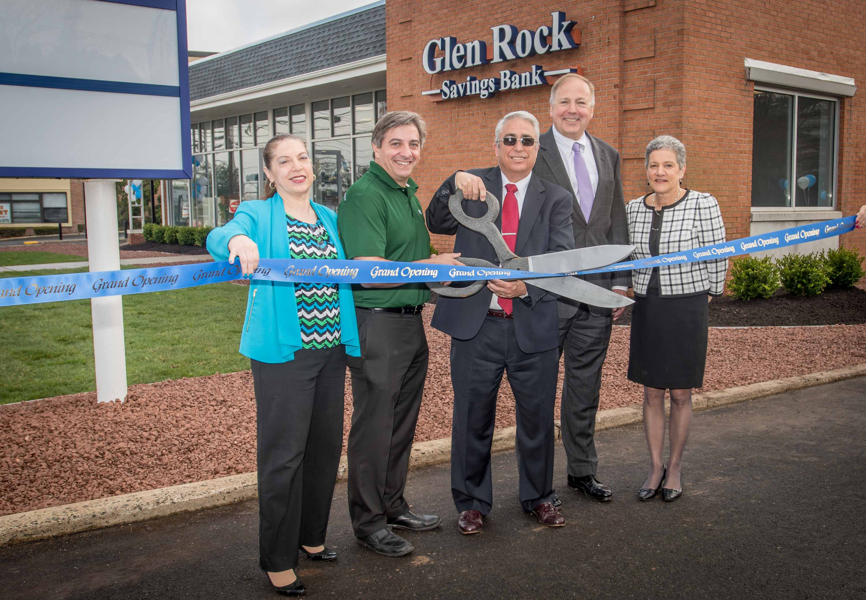 Glen Rock Savings Bank Grand Re Opening 5/5/18