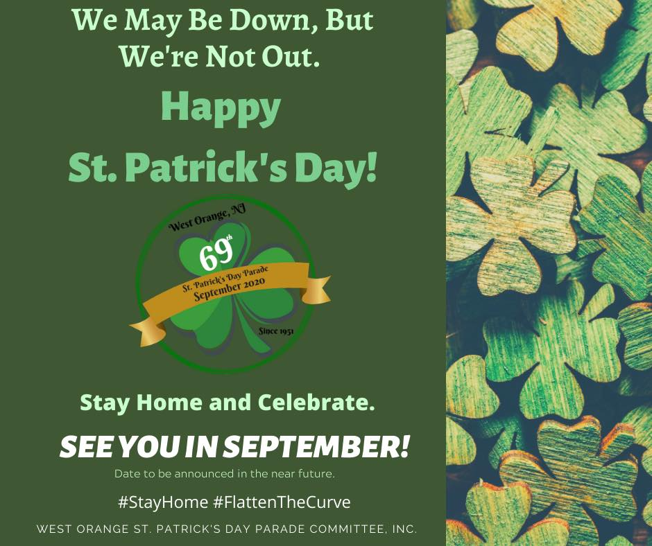 St Patricks Day Sept 2020