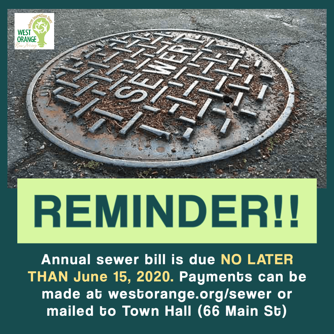 Sewer Bill Postponed
