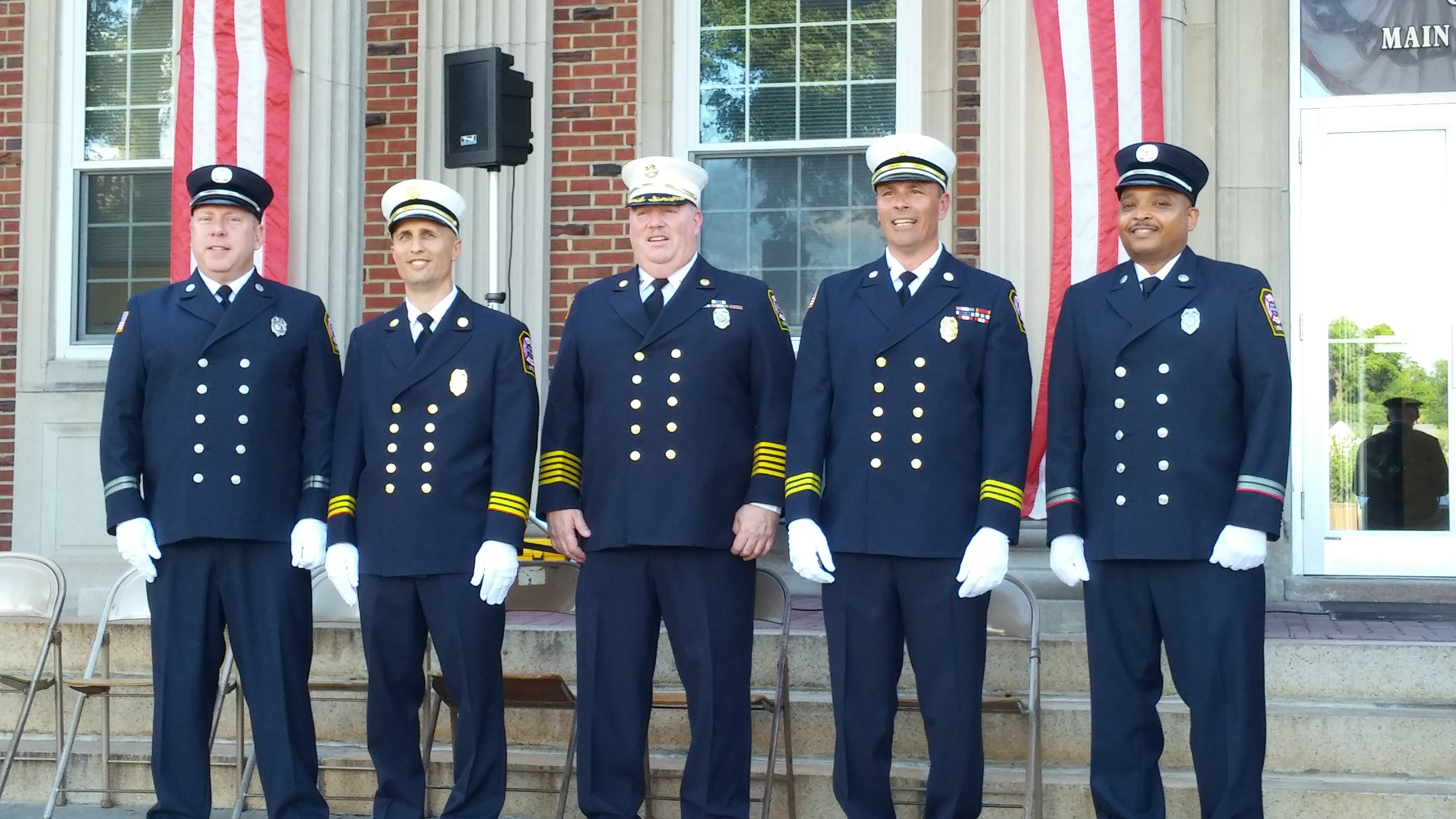 Police & Fire Joint Promotion Ceremony 6/20/17